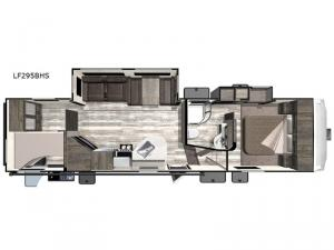 Open Range Light LF295BHS Floorplan Image