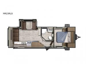 Mesa Ridge Conventional MR23RLS Floorplan Image