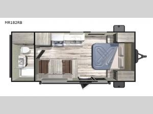 Mesa Ridge Conventional MR182RB Floorplan Image