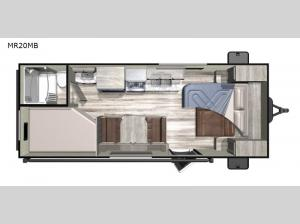Mesa Ridge Conventional MR20MB Floorplan Image