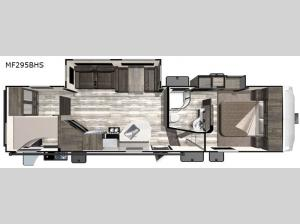 Mesa Ridge Limited MF295BHS Floorplan Image