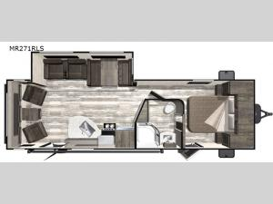 Mesa Ridge Limited MR271RLS Floorplan Image