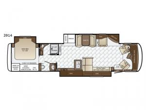 Canyon Star 3914 Floorplan Image