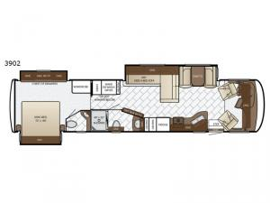 Canyon Star 3902 Floorplan Image