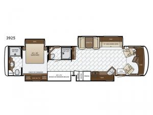 Canyon Star 3925 Floorplan Image