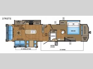 Pinnacle 37RSTS Floorplan Image