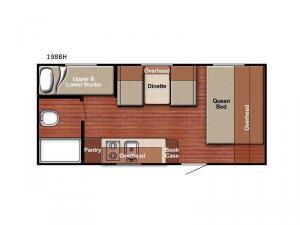 Friendship 198BH Floorplan Image