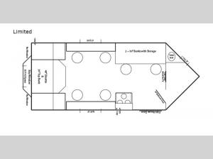 Ice Castle Fish Houses Limited Floorplan Image