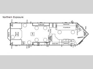 Ice Castle Fish Houses Northern Exposure Floorplan Image