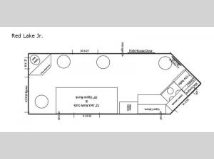 Ice Castle Fish Houses Red Lake Jr Floorplan Image