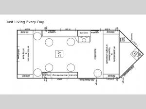 Ice Castle Fish Houses Just Living Every Day Floorplan Image
