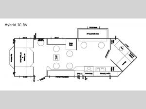 Ice Castle Fish Houses Hybrid IC RV Edition Floorplan Image