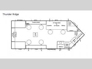 Ice Castle Fish Houses Thunder Ridge Floorplan Image