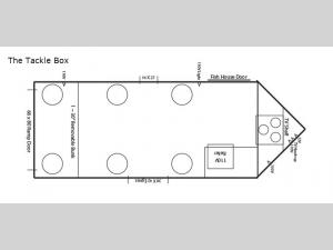 Ice Castle Fish Houses The Tackle Box Floorplan Image
