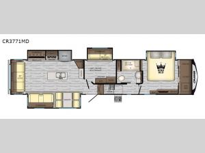 Cruiser CR3771MD Floorplan Image