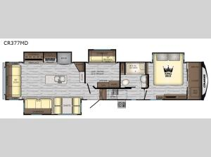 Cruiser CR377MD Floorplan Image