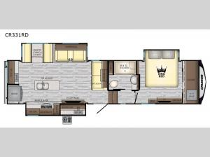 Cruiser CR331RD Floorplan Image