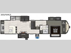 Sprinter 3551FWMLS Floorplan Image