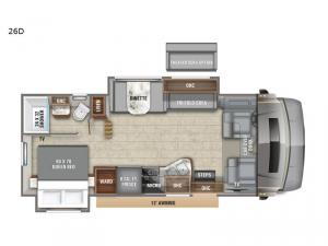 Esteem 26D Floorplan Image