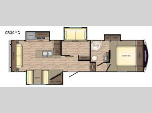 Cruiser Aire CR30MD Floorplan Image