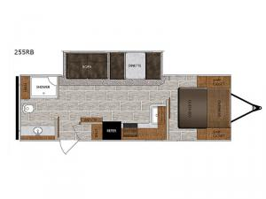 Tracer 255RB Floorplan Image