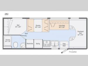 Outlook 25J Floorplan Image