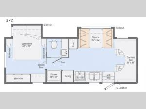 Outlook 27D Floorplan Image