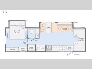 Outlook 31N Floorplan Image