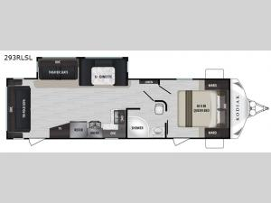 Kodiak Ultra-Lite 293RLSL Floorplan Image