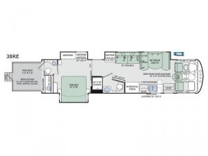 Outlaw 38RE Floorplan Image