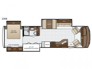 Bay Star Sport 3306 Floorplan Image