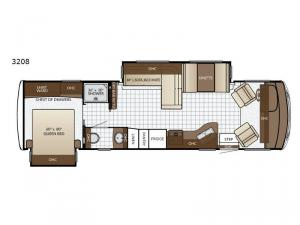 Bay Star Sport 3208 Floorplan Image