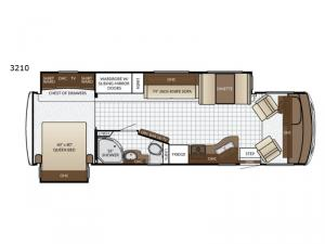 Bay Star Sport 3210 Floorplan Image