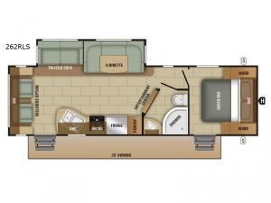 Autumn Ridge 262RLS Floorplan Image