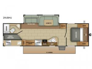 Autumn Ridge 291BHU Floorplan Image