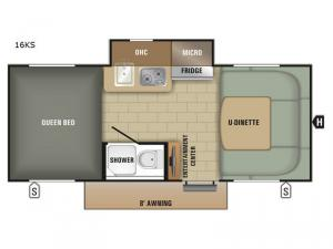 Satellite 16KS Floorplan Image
