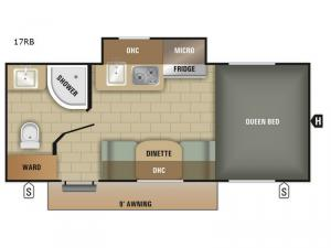 Satellite 17RB Floorplan Image