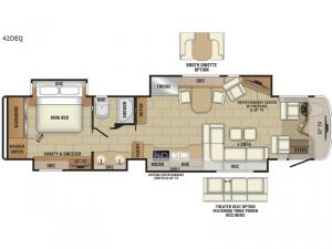 Anthem 42DEQ Floorplan Image