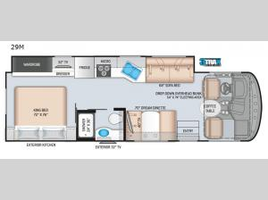 Windsport 29M Floorplan Image