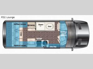 Passage 144 FD2 Lounge Floorplan Image