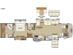 Anthem 42RBQ Floorplan Image