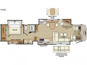 Aspire 42DEQ Floorplan Image
