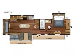 Eagle 330RSTS Floorplan Image