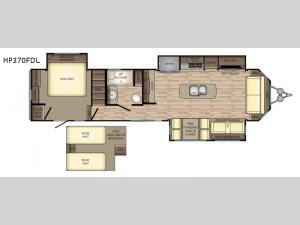 Hampton HP370FDL Floorplan Image
