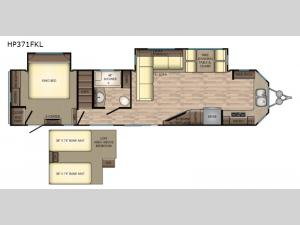 Hampton HP371FKL Floorplan Image