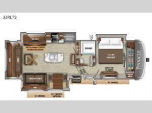 Pinnacle 32RLTS Floorplan Image