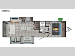 Cruiser Aire CR30RLS Floorplan Image