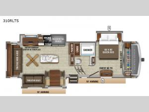 North Point 310RLTS Floorplan Image