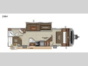 White Hawk 29BH Floorplan Image