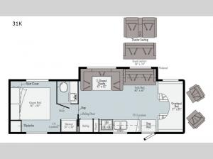 Spirit 31K Floorplan Image